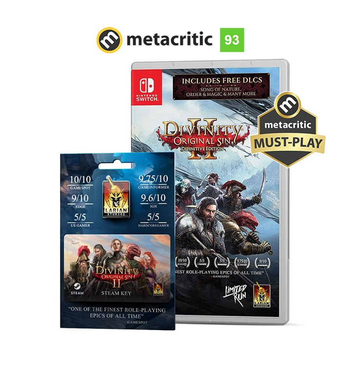 Divinity: Original Sin II Nintendo Switch - Heist Edition